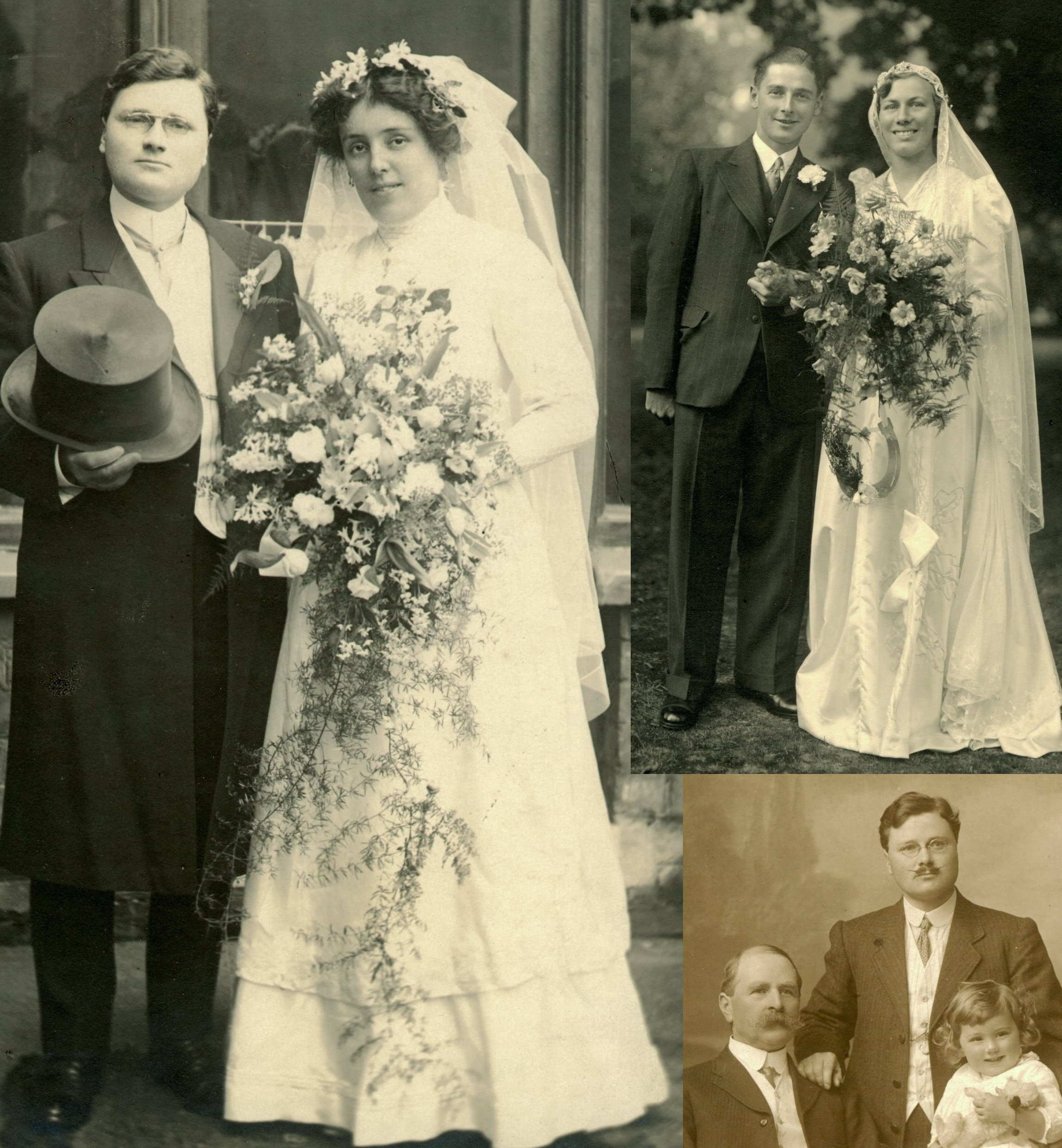My Grandparents, parents, greatgrandfather, grandfather and father